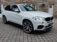 2015 BMW X5 3.0 XDRIVE40D M SPORT 5d AUTO 309 BHP £33950.00