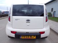 USED 2009 59 KIA SOUL 1.6 SHAKER 5d 125 BHP 88,000 REVERSE CAMERA PART EXCHANGE AVAILABLE / ALL CARDS / FINANCE AVAILABLE