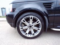 USED 2006 06 LAND ROVER RANGE ROVER SPORT 2.7 TDV6 HSE 5d AUTO 188 BHP SAT NAV LEATHER SIDE STEPS PART EXCHANGE AVAILABLE / ALL CARDS / FINANCE AVAILABLE