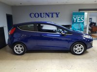 USED 2015 65 FORD FIESTA 1.2 ZETEC 5d 81 BHP * ONE OWNER * 12 MONTHS MOT *
