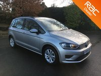 USED 2014 64 VOLKSWAGEN GOLF SV 1.4 SE TSI 5d 123 BHP Adaptive Cruise Control, Rear Parking Sensors, Bluetooth, Alloy Wheels