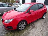 2010 SEAT IBIZA 1.4 GOOD STUFF 5d 85 BHP £2295.00