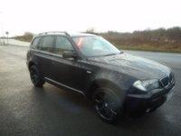USED 2007 BMW X3 2.0 D M SPORT 5d AUTO 175 BHP LEATHER
