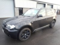 2007 BMW X3 2.0 D M SPORT 5d AUTO 175 BHP LEATHER  £6391.00