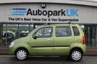 USED 2003 53 VAUXHALL AGILA 1.2 CLUB 5d 75 BHP * 25% DEPOSIT SHORTFALL SHORT TERM FINANCE AVAILABLE TO ALL (NO CREDIT CHECKS)  *