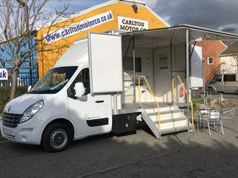 2012 RENAULT MASTER 2.3 ML35 DCI 125 [ MOBILE EXIBITION UNIT ] Low Mileage  £19950.00