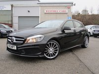 2013 MERCEDES-BENZ A CLASS 1.8 A200 CDI BLUEEFFICIENCY AMG SPORT 5d 136 BHP £13750.00