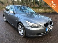USED 2008 57 BMW 5 SERIES 2.0 520D SE TOURING + LEATHER + BLUETOOTH AUTO 175 BHP