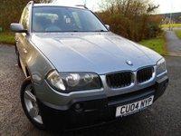2004 BMW X3 2.5 SPORT 5d 190 BHP ** ALLOYS, SATNAV, 4 WHEEL DRIVE ,6 SPEED ** £3295.00