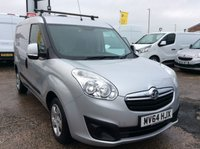 USED 2014 64 VAUXHALL COMBO VAN 1.3 2000 L1H1 CDTI S/S SPORTIVE 90 BHP 1 OWNER FSH NEW MOT FREE 6 MONTH AA WARRANTY INCLUDING RECOVERY AND ASSIST NEW MOT ROOF RACK RACKING ELECTRIC WINDOWS PARROT BLUETOOTH REAR PARKING SENSORS