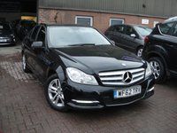 2012 MERCEDES-BENZ C CLASS 2.1 C220 CDI BLUEEFFICIENCY EXECUTIVE SE 4d 168 BHP £7700.00