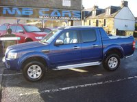 "USED 2009 09 FORD RANGER 3.0 WILDTRAK 4X4 LWB D/C 1d 156 BHP 3.0 TURBO DIESEL""NO VAT"""