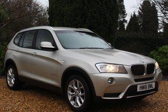 2011 BMW X3 X3 xDrive20d SE  £12898.00