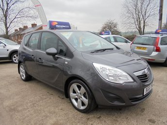 2011 VAUXHALL MERIVA 1.4 EXCLUSIV 5d 98 BHP *LOW MILEAGE* FULL SERVICE HISTORY* EXCELLENT* £3950.00