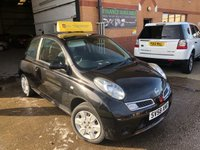 USED 2008 58 NISSAN MICRA 1.2 ACENTA 3d AUTO 80 BHP