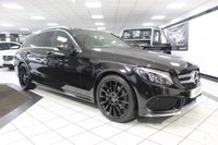 2015 MERCEDES-BENZ C CLASS C220 D AMG LINE PREMIUM 5d AUTO 170 BHP £17450.00