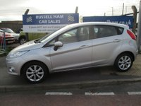 USED 2009 59 FORD FIESTA 1.4 ZETEC TDCI 5d 68 BHP 7 Stamps Of service History .£20 road Tax. .New MOT & Full Service Done on purchase + 2 Years FREE Mot & Service Included After . 3 Months Russell Ham Quality Warranty . All Car's Are HPI Clear . Finance Arranged - Credit Card's Accepted . for more cars www.russellham.co.uk  Spare Key & Owners Book Pack.