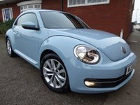 2015 VOLKSWAGEN BEETLE 1.6 DESIGN TDI BLUEMOTION TECHNOLOGY 3d 104 BHP With Extra Specification £10155.00