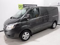 USED 2015 65 FORD TRANSIT CUSTOM 2.2 270 LIMITED LR P/V 1d 124 BHP AMAZING VAN FINISHED IN GLEAMING GRAY WITH ONE OWNER AND FULL HISTORY TOP OF THE RANGE TRANSIT  CUSTOM 290 LIMITED WITH  MOBIL SAT NAV , HEATED SEATS, PARKING SENSORS, CRUISE CONTROL, UPGRADED ALLOY WHEELS, ELEC WINDOWS, REMOTE CENTRAL LOCKING,ROOF RACK, AUTO LIGHTS,  ELEC FOLDING MIRRORS 155 bhp, EXCELLENT VALUE FOR MONEY IN THIS CONDITION