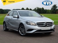 USED 2015 15 MERCEDES-BENZ A-CLASS 1.6 A180 BLUEEFFICIENCY SPORT 5d 122 BHP This is a 2015 Mercedes A180 1.5 Blueefficiency SPORT 5dr in Silver metallic with just 31000 miles, complete with service history, 2 keys and an independent AA inspection report.