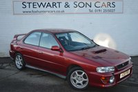 USED 1999 V SUBARU IMPREZA 2.0 TURBO 2000 AWD 4d 211 BHP