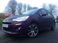 USED 2015 CITROEN C3 1.2 SELECTION 5d 80BHP GLASS ROOF 20 ROAD TAX+1OWNER+2KEYS+CD+