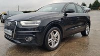 USED 2012 12 AUDI Q3 2.0 TFSI QUATTRO S LINE 5d 168BHP 1OWNER+2KEYS+FSH 8STAMPS+MEDIA