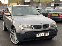 USED 2004 04 BMW X3 3.0 SE 5d 228 BHP *20'' ALLOYS, LOTS OF HISTORY. GREAT VALUE!*
