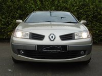 USED 2006 06 RENAULT MEGANE 1.9 DYNAMIQUE DCI 2d 130 BHP DIESEL CONVERTIBLE PART EXCHANGE AVAILABLE / ALL CARDS / FINANCE AVAILABLE