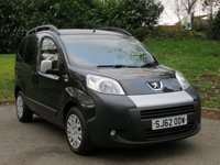 USED 2012 62 PEUGEOT BIPPER 1.2 HDI TEPEE OUTDOOR 5d AUTO 75 BHP UNDER £39 A WEEK / AUTO