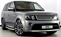 USED 2012 12 LAND ROVER RANGE ROVER SPORT 3.0 SD V6 Autobiography Sport 4X4 5dr Auto [8] F/S/H (6 Stamps), Immaculate!