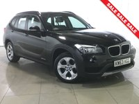 USED 2014 63 BMW X1 2.0 SDRIVE18D SE 5d 141 BHP 1 Owner/Leather/Bluetooth/DAB