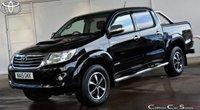 USED 2015 15 TOYOTA HI-LUX 3.0 D-4D INVINCIBLE X DOUBLE-CAB AUTO 169 BHP (NO VAT)