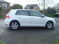 USED 2014 64 VOLKSWAGEN GOLF 1.6 MATCH TDI BLUEMOTION TECHNOLOGY 5d 103 BHP /// ZERO ROAD TAX ON THIS VEHICLE ///