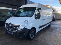 USED 2014 64 RENAULT MASTER 2.3 LM35 BUSINESS DCI S/R P/V 1d 125 BHP MOT until January 2020 and Just been serviced