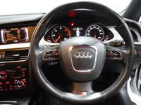 USED 2012 12 AUDI A4 2.0 AVANT TDI S LINE BLACK EDITION 5d 134 BHP BEAUTIFUL CAR FINISHED IN GLEAMING ALPINE WHITE. ONE OWNER FROM NEW WITH FULL HISTORY 5 STAMPS, THIS CAR HAS BEEN SERVICED REGARDLESS OF COST WITH SOME NICE SPECIFICATIONS, INC MOBIL SAT NAV, FULL HEATED  LEATHER DRL HEADLAMPS,,DUAL CLIMATE CONTROL, ELEC HEATED MIRRORS, TWIN BAR 18INCH UPGRADED ALLOYS, FLAT BOTTOM,MULTI FUNCTION LEATHER CLAD STEERING WHEEL, AUDI MULTI MEDIA SYSTEMS WITH USB AND AUX POINTS. BLUE TOOTH PHONE PREP