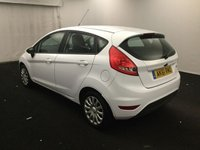 USED 2011 61 FORD FIESTA 1.4 EDGE TDCI 5d 69 BHP AMAZING CAR  WITH SERVICE HISTORY 5 STAMPS FINISHED IN GLEAMING  WHITE ,THE CAR HAS SOME GREAT OPTION, ELEC WINDOWS,, ELEC  MIRRORS, REMOTE CENTRAL LOCKING BL, DAB RADIO CD  ,  AIR CON,