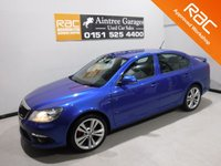 USED 2009 59 SKODA OCTAVIA 2.0 VRS TDI CR 5d 170 BHP MAZING CAR WITH SERVICE HISTORY 6 STAMPS,   FININISHED IN GLEAMING METALIC BLUE,WITH,  18 INCH ALLOYS, LEATHER CLAD MULTI FUNCTION STEERING WHEEL, MOBIL SAT NAV,   REAR PARKING SENSORS, AUTO HEAD LAMPS,, HALF LEATHER SEATS ,  BLUETOOTH PHONE PREP , TOUCH SCREEN RADIO CD
