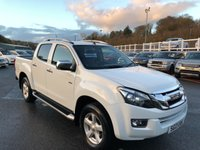 USED 2013 13 ISUZU D-MAX 2.5 TD UTAH VISION DCB 1d 164 BHP £16,750 with NO VAT. Leather, Sat Nav, roller cover & much more