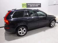USED 2011 11 VOLVO XC90 2.4 D5 SE AWD 5d AUTO 197 BHP A REAL EXAMPLE OF A STUNNING AND VERY WELL LOOKED AFTER UTILITY VEHICLE , FINISHED IN GLEAMING BLACK  FULL SERVICE HISTORY,   BLACK LEATHER INTERIOR WITH ELEC MEMORY  , 7 SEATS FRONT SPOT LIGHTS, CROME ROOF RAILS,  18INCH UPGRADED ALLOYS, , SAT NAV, LEATHER CLAD MULTI FUNCTION STEERING WHEEL,  BLUE TOOTH PREP, VOICE COMMAND,  AUX USB LEAD, AUTO HEAD LAMPS,  DAD CD RADIO