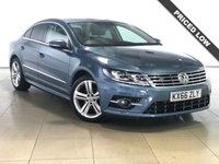 USED 2016 66 VOLKSWAGEN CC 2.0 R LINE TDI BLUEMOTION TECHNOLOGY DSG NAV 4d AUTO 182 BHP 1 Owner/Two Tone Leather Seats