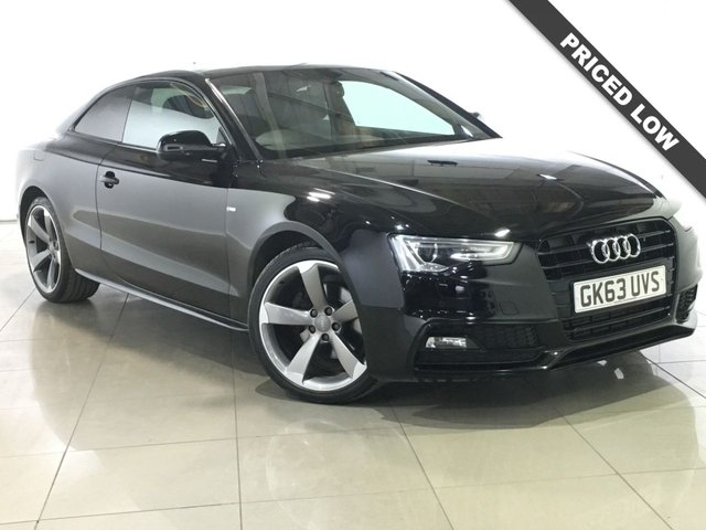 View our 2013 63 AUDI A5 2.0 TDI S LINE BLACK EDITION 2d AUTO 177 BHP