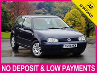 USED 2000 VOLKSWAGEN GOLF 1.9 GT TDI 3DR HEATED SEATS AIR CONDITIONING 6 SPEED ALLOYS