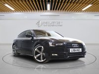 USED 2014 64 AUDI A5 2.0 SPORTBACK TDI S LINE BLACK EDITION S/S 5d AUTO 175 BHP -  Well-Maintained by 1 Owner With Full Main Dealer AUDI Service History - 0% DEPOSIT FINANCE AVAILABLE