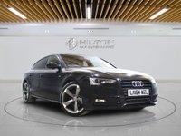 USED 2014 64 AUDI A5 2.0 SPORTBACK TDI S LINE BLACK EDITION S/S 5d AUTO 175 BHP + Sat/Nav, Leather Interior, Blueto
