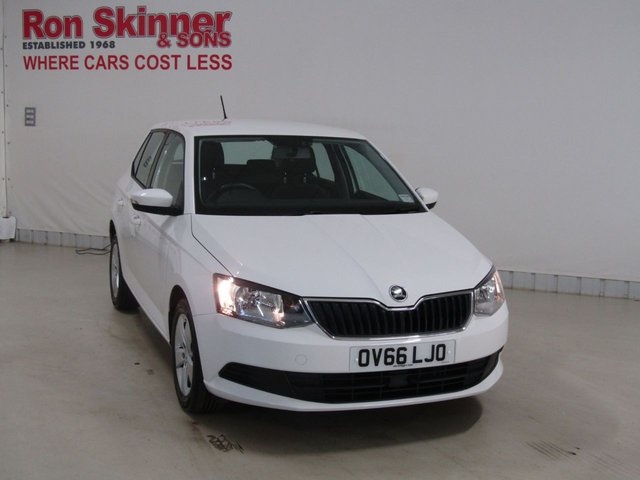 View our 2016 66 SKODA FABIA 1.0 SE MPI 5d 74 BHP