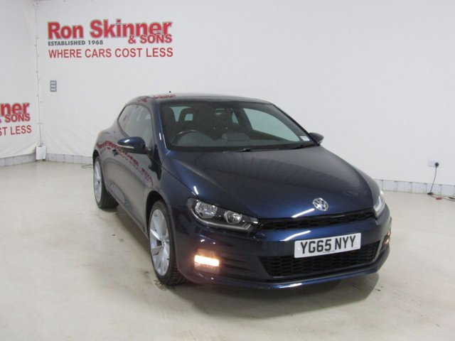 View our 2015 65 VOLKSWAGEN SCIROCCO 2.0 GT TDI BLUEMOTION TECHNOLOGY 2d 150 BHP