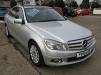 2010 MERCEDES-BENZ C CLASS 2.1 C250 CDI BLUEEFFICIENCY ELEGANCE 4d AUTO 204 BHP £6995.00