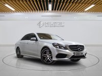 USED 2014 14 MERCEDES-BENZ E CLASS 2.1 E220 CDI AMG SPORT 4d AUTO 168 BHP + Sat/Nav, Leather Interior, Blueto