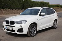 USED 2015 65 BMW X3 2.0 XDRIVE20D M SPORT 5d AUTO 188 BHP Finance Options Available - Good Credit / Bad Credit
